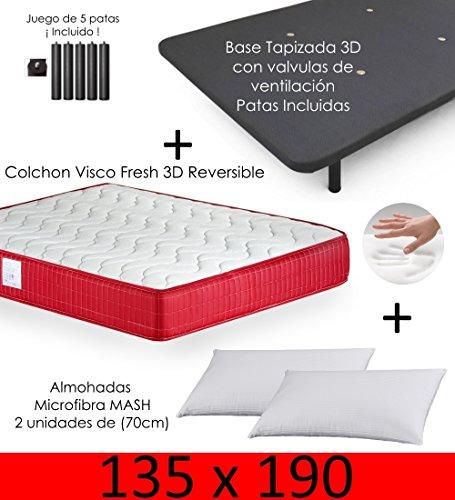 MICAMAMELLAMA Colchón Viscoelástico VISCO Confort