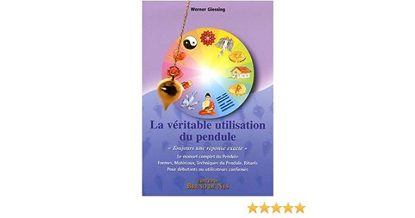 Zinmuwa Pendule Pierre Naturelle D/énergie De Gu/érison M/éditation De Yoga Divination Reiki