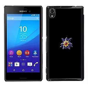 Poke Monster Ball Violet Gem OYAYO Sony Xperia M4 Aqua //Dessins de Housse cool pour tous les go?ts! Meilleures Coque de protection pour votre smartphone.