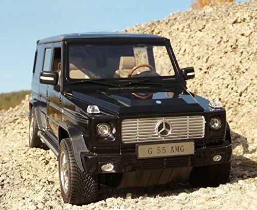 RC Mercedes Benz G55 AMG mit LICHT Länge 32cm Ferngesteuert 27MHz