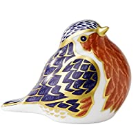 Royal Crown Derby - Paperweight - Robin