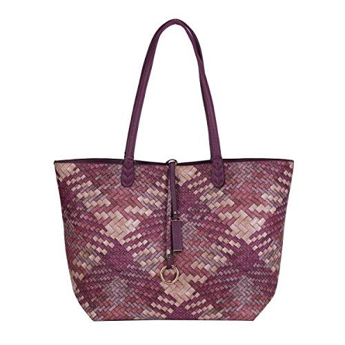 LAIDAYE Fashion Gewebte Handtasche Mobile Messenger Taschen 7