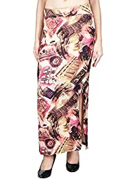 Franclo women's vintage print skirt