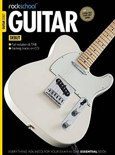 Rockschool Guitar - Debut (2012-2018): Lehrmaterial für Gitarre
