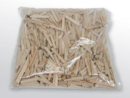 Kurt Neidull Fliesenkeile Holz, 1.000 Stück