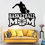 HNXDP Basketball Wandkunst Aufkleber Dekoration Mode Aufkleber Für Baby Kinderzimmer Dekor...