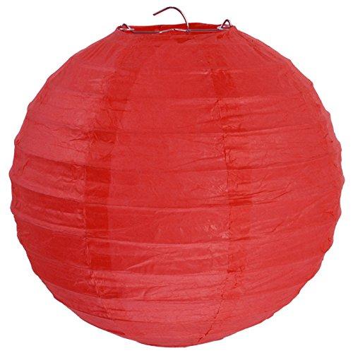 NEU Lampion XL, Ø 50 cm, rot, 1 (Ballon Roter Kostüm)