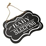 Baoblaze Holz Schilder Dekoschild Plakat mit Sprüchen für Babyzimmer - #2