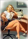 Posterlounge Cuadro Sobre Lienzo 120 x 170 cm: The Work End de Tanja Doronina - Cuadro Terminado, Cuadro Sobre Bastidor, lámina terminada Sobre Lienzo auténtico, impresión en Lienzo