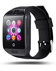 WELROCK Q18 Bluetooth Smart Watch with Camera & Calling Facility Bluetooth Smart Mobile Watch TF SIM Card Slot