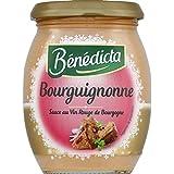 Bénédicta - Sauce bourguignonne au vin rouge de Bourgogne - Le pot de 270g - Prix Unitaire - Livraison Gratuit...