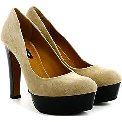 The Seller Damen High heel pumps, Nerzfarbig, 40