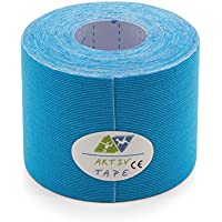 Kinesiologie Tape | Rayon Tape Exklusiv | wasserabweisende Kunstseide | ca. 5,00cm x 5m | Farbe: blau preisvergleich bei billige-tabletten.eu