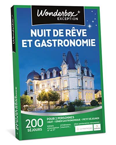 Wonderbox - Coffret cadeau couple noel - NUIT DE RÊVE ET GASTRONOMIE - Séjours Haut...