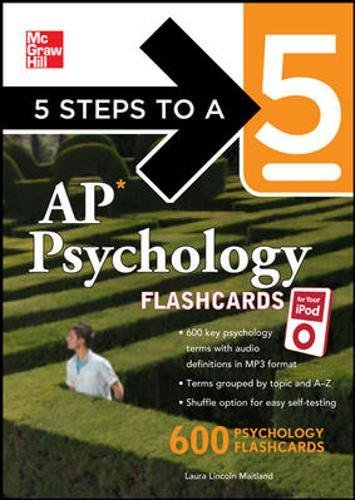 AP Psychology Flashcards for Your iPod (5 Steps to a 5)