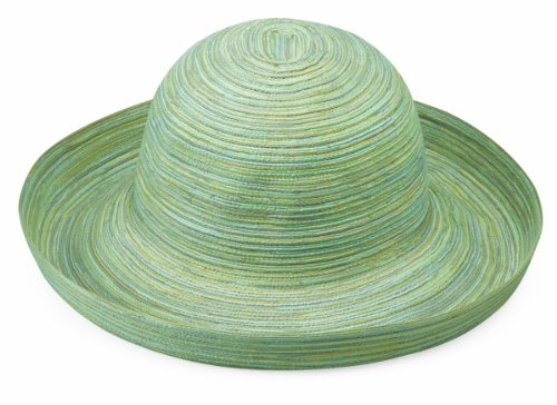 Womens Wallaroo Sydney Chapeau de soleil Réglable et pliable - Seafoam