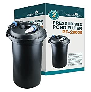 All Pond Solutions Koi Fish Pond Pressurised Filter And Uv