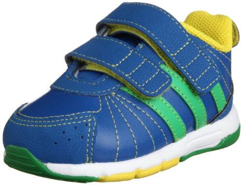 adidas Performance Baby Jungen BRZ Snice 3 CF Sneaker, Blau (Blue Beauty F10 / Real Green S11 / Vivid Yellow S13 D67484), 23 EU