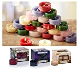3 x confezioni ufficiale Yankee Tea Lights Assorted fragranze totale 36 candele