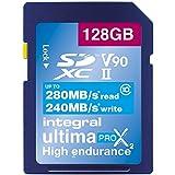 Integral UltimaPro Video Speed V6064GB 280/100Mb/s uhs-ii X2SDXC Speicherkarte 128 GB