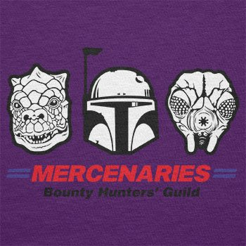 TEXLAB - Mercenaries - Herren T-Shirt Violett