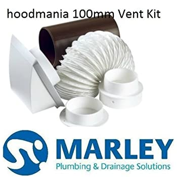 Marley 4 Quot 100mm Cooker Hood Tumble Dryer External Vent