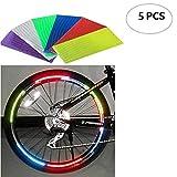 Adesivi Riflettenti Per Ruote Da Bicicletta Set 5 Pezzi Adesivi Riflettenti Per Cerchioni In Bicicletta Accessori Per Mountain Bike Per Night Ride Safety
