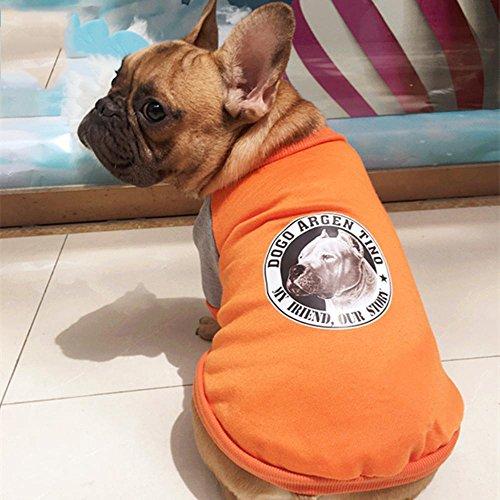 Wmshpeds Dogbaby Hund Kleidung Bulldog Peking Pakistan Kleidung dicker Hund