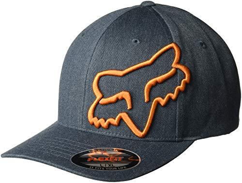 Fox Herren Clouded Flexfit HAT Baseball Cap, Navy, Small/Medium -