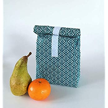 Lunchbag Vesper, mit Lebensmittelfreundlichem Innenfutter, Handmade