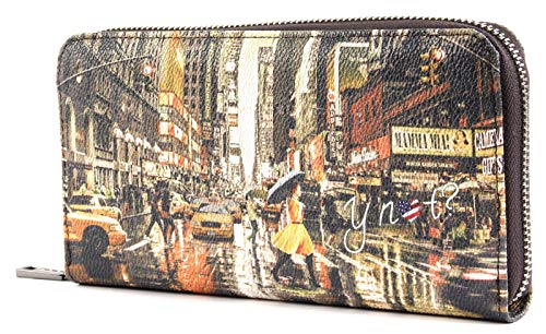 Y NOT? K-361 Geldbörse Frau New york print TU
