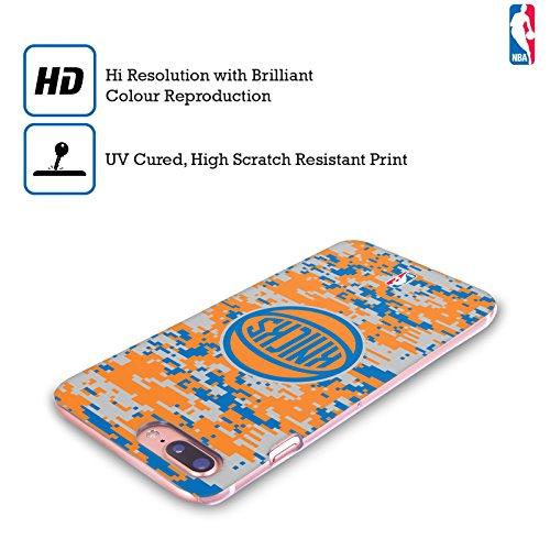 Officiel NBA B&W Marbre New York Knicks Étui Coque D'Arrière Rigide Pour Apple iPhone 6 / 6s Camouflage Numérique