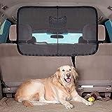 Haustier Barrier Sicherheitsnetz Fahrzeug Sicherheitsnetz Trennnetz für Hunde Katzen und andere Haustiere, 115 x 62 cm