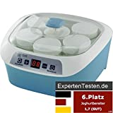 Syntrox Germany 4 in 1 Digitaler 1,2 Liter Käse,- Wein-, Quark- und Joghurtbereiter mit 6 Bechern
