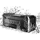 Altoparlante Bluetooth 20W, VTIN Cassa Bluetooth 4.0 Portatile IPX4 Impermeabile, Crashproof, Speaker Senza Fili con Incorporato Microfono e Doppia Cassa, Tempo di Riproduzione di 25 Ore