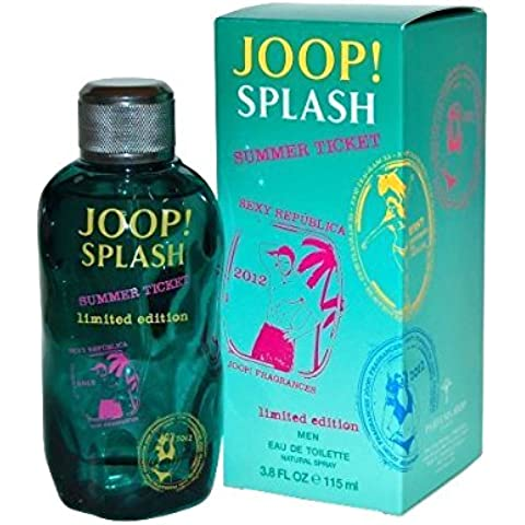 Joop Splash Summer Ticket Eau De Toilette Spray (Limited Edition) 115ml