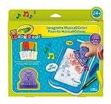 Crayola Mini Kids 81-1306 Lavagnetta da Disegno Musica & Colori, Età 24 Mesi, Gioco e Regalo