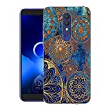 CaseExpert Alcatel 1X (2019) Case, Pattern Soft Slim Gel