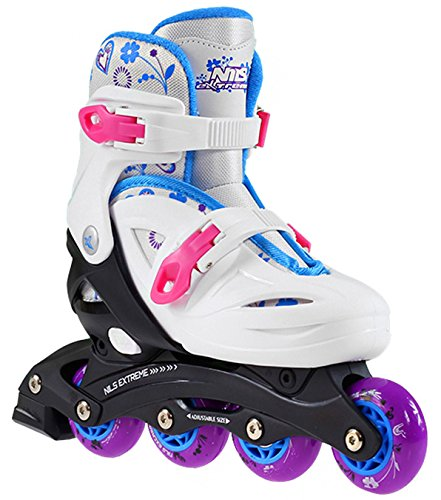 Inlineskates Skates Inliner Rollschuhe größenverstellbar S NJ0321A