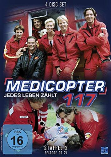 Medicopter 117 - Jedes Leben zählt (Staffel 2: Folge 09-21 im 4 Disc-Set)