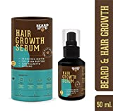 Beardhood Beard and Hair Growth Serum -Biotin, Collagen Peptide, Ginseng & Saw Palmetto