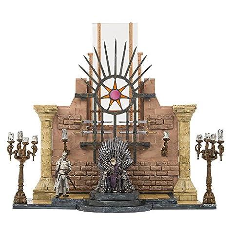 Game of Thrones jouet Playset–Jeu de Thrones salle du Trône de fer Collector Jeu de construction