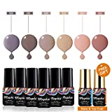Maphie UV Nagellack Set Soak Off UV LED Gel Gellack