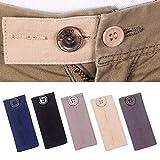 Extensores de cintura ajustables para pantalones de traje