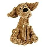 Betz Türstopper Doorstop Hund Bruno aus Cordstoff Farbe Braun Größe 35cm