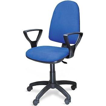 Poltrona sedia ufficio con ruote altezza regolabile studio ...