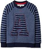RED WAGON Jungen Sweatshirt College Sweat, Blau, 128 (Herstellergröße: 8 Jahre)