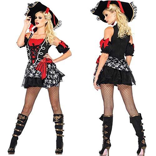Kaidila costume di halloween costume cosplay costume da pirata dei caraibi discoteca festa a tema fase prestazioni adulto