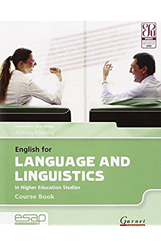 English for Language and Linguistics in Higher Education Studies and CD: Course Book and Audio CDs