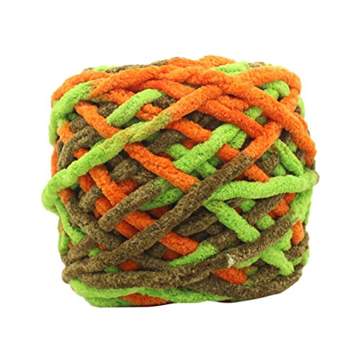 Huihong 100 gramm schrumpfungsfest Kammgarn Super Weiche Glatte Naturseide Wolle Garn Stricken Pullover Stricken Chenille Garn (R-42) -